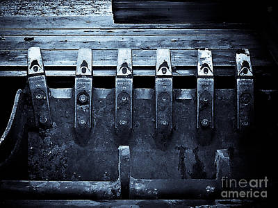 Photograph - Metal No. 35 by Fei A