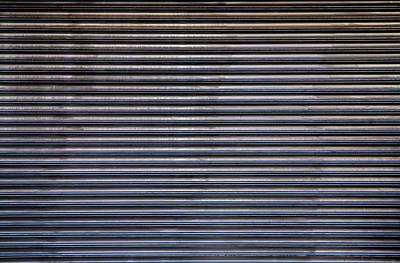 Photograph - Metal Security Gate by Robert Ullmann