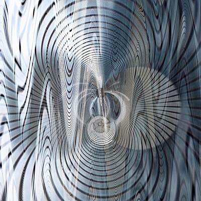 Metal Space 6 Art Print by Philip Openshaw