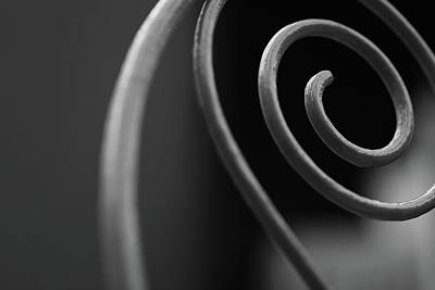 Photograph - Metal Spiral by Prakash Ghai