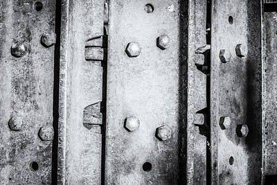 Photograph - Metal Tank Scale Of Unity by John Williams