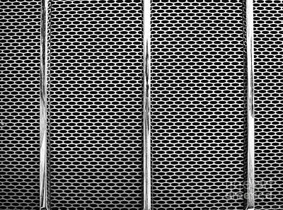 Photograph - Metal Texture No.18 Bw by Fei A