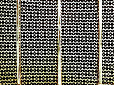 Photograph - Metal Texture No.18 by Fei A