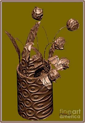 Metal Tulips 3mt Original by Pemaro