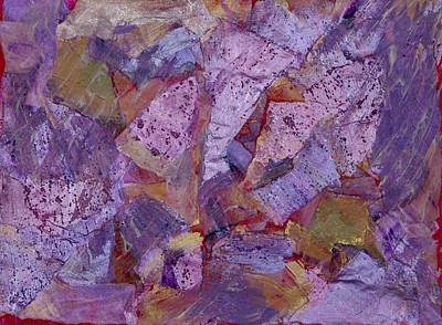 Chemical Mixed Media - Metallic Elements by Don  Wright
