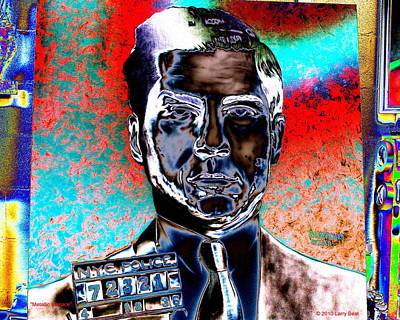 Digital Art - Metallic Menace by Larry Beat