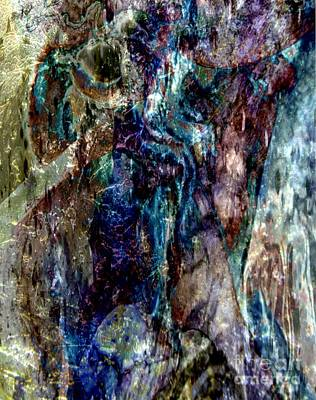 Metallic Mystery Art Print by Tlynn Brentnall