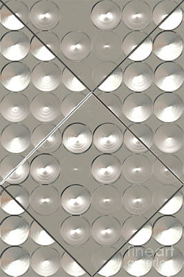 Metallic Sheets Digital Art - Metallic Sound N.1 by OliverP Photo-Art