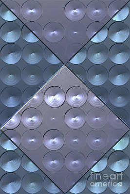 Metallic Sheets Digital Art - Metallic Sound N.4 by OliverP Photo-Art