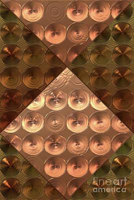 Metallic Sheets Digital Art - Metallic Sound N.5 by OliverP Photo-Art