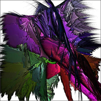 Digital Art - Metallic Spring by Sara Raber