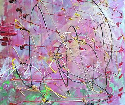 Painting - Metallica by Etta Harris