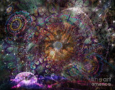 Digital Art - Metamorphignition by Rhonda Strickland