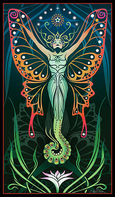 Lily Digital Art - Metamorphosis by Cristina McAllister