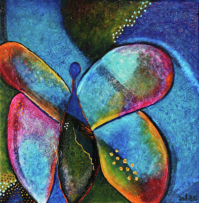 Painting - Metamorphosis by Indigo Carlton