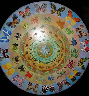 Painting - Metamorphosis Mandala by Amanda  Lynne