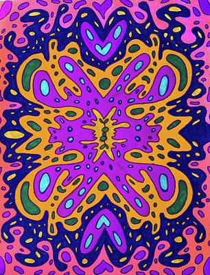 Swirly Drawing - Metamorphosis by Megan Howard