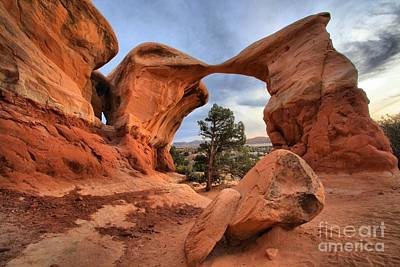 Photograph - Metate Arch by Adam Jewell