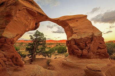 Photograph - Metate Arch by Johnny Adolphson