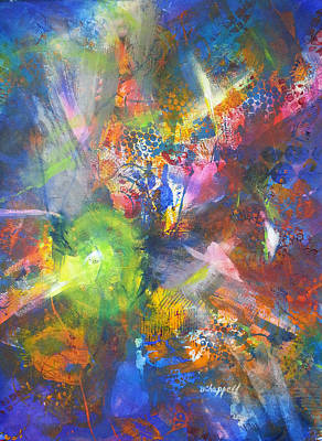 Painting - Metatronic Energies by Becky Chappell