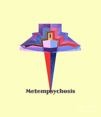 Painting - Metempsychosis Text by Michael Bellon