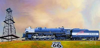 Photograph - Meteor 4500 Train by Janette Boyd