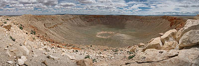 Photograph - Meteor Crater by Ryan Heffron