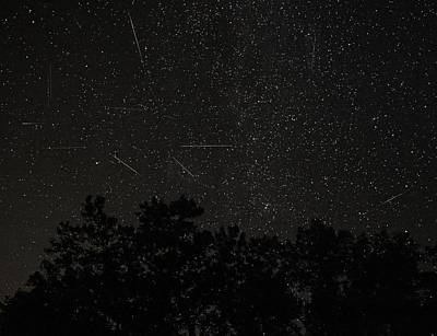 Photograph - Meteor Shower by Richard Engelbrecht