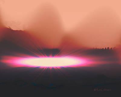 Digital Art - Meteor Strike by Kae Cheatham