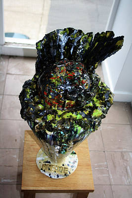Sculpture - Methadone Explosion View Three by Gloria Ssali