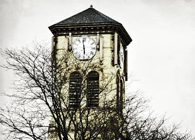 Photograph - Cazenovia Clock Tower  by JAMART Photography