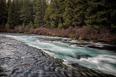 Photograph - Metolius River Near Wizard Falls by Belinda Greb