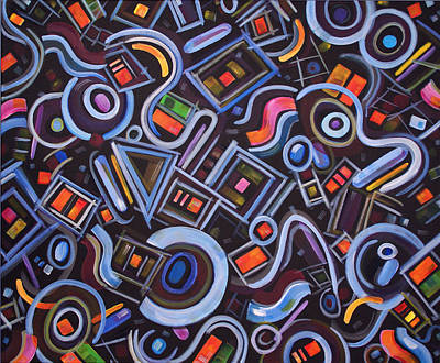 Painting - Metrimorphic Lll by Lynda Lehmann
