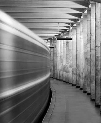 Photograph - Metro #0110 by Andrey Godyaykin