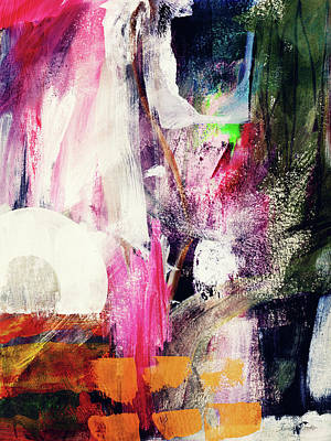 Abstract Mixed Media - Metro 2- Art By Linda Woods by Linda Woods