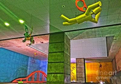 Photograph - Metro Airborne 4 by Jenny Revitz Soper