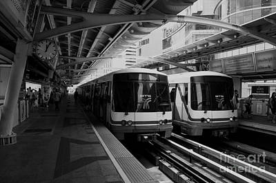 Photograph - Metro by Charuhas Images