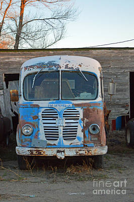 Photograph - Metro International Harvester by Renie Rutten
