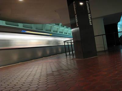 Metro Motion Art Print by Sean Owens