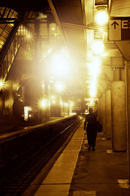 Photograph - Metro North Passenger by Diana Angstadt