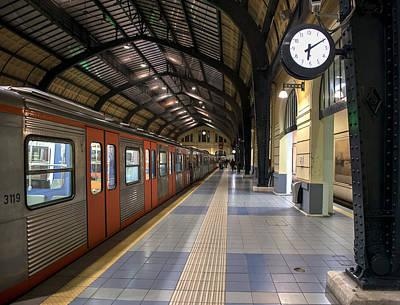 Photograph - Metro Station Last Stop by Radoslav Nedelchev