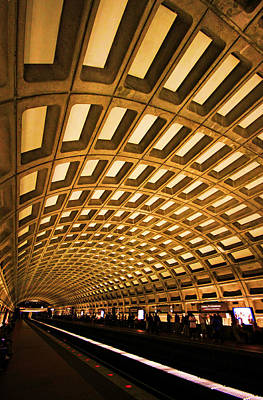 Washington Photograph - Metro Station by Mitch Cat