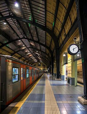Photograph - Metro Station Vertical by Radoslav Nedelchev