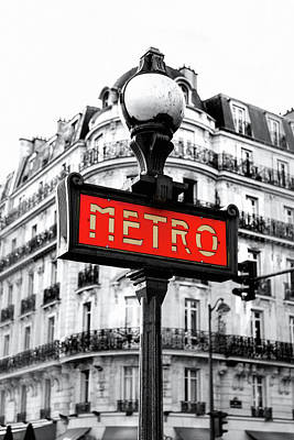 Photograph - Metro by Susan Maxwell Schmidt