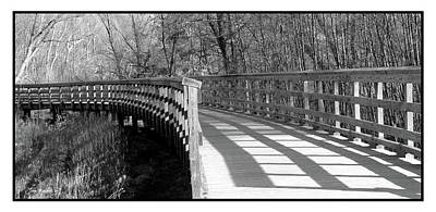 Photograph - Metropark Path by Joan  Minchak
