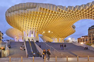 Photograph - Metropol Parasol Sevilla by Marek Stepan