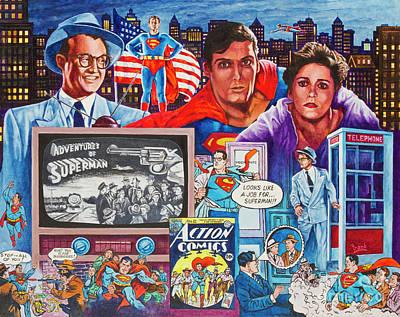 Painting - Metropolis 1 by Michael Frank