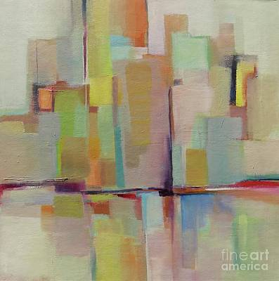 Painting - Metropolis #7 by Michelle Abrams