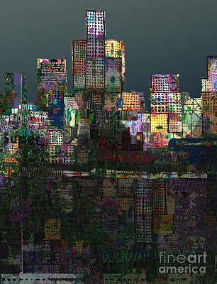 Rain Digital Art - Metropolis After The Storm by Andy  Mercer