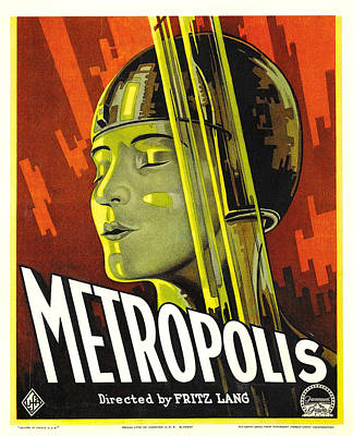 Metropolis, Brigitte Helm, 1927 Art Print by Everett
